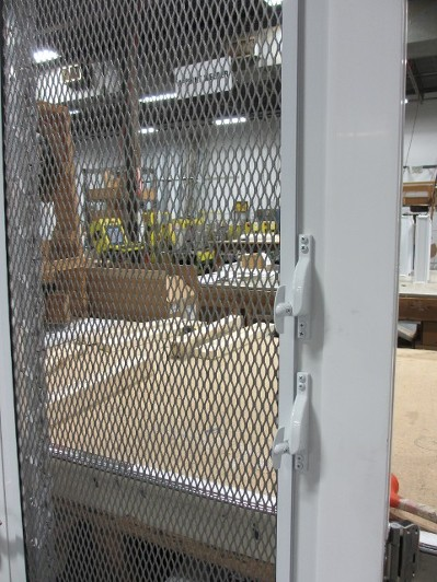 Aluminum Jalousie Entry Doors